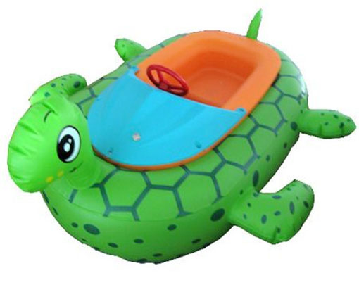 Kids Inflatable Bumper Boats With Animals Shape