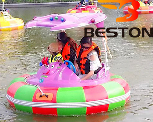 Family Fun Water Cannon Bumper Boats