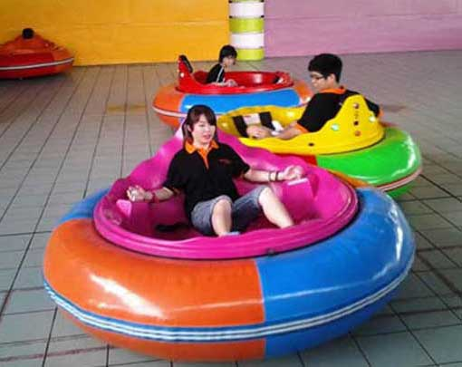 Large adults inflatable spin zone bumper cars for sale