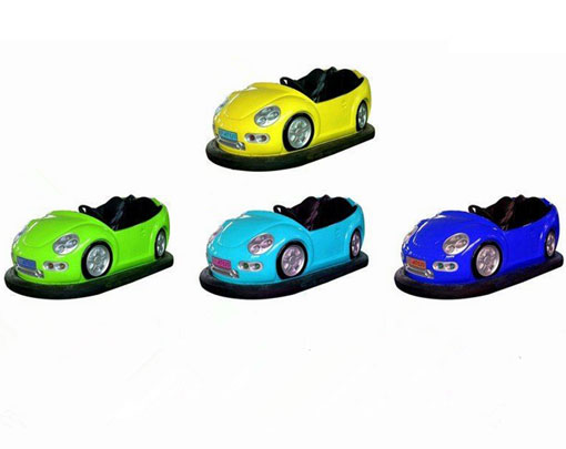 Mini bumper cars with different colors