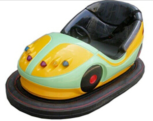 Old Style Bumper Car With Electric Power