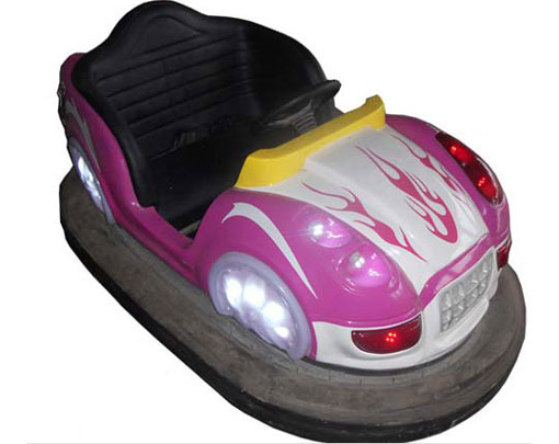 Old style bumper car for amusement park