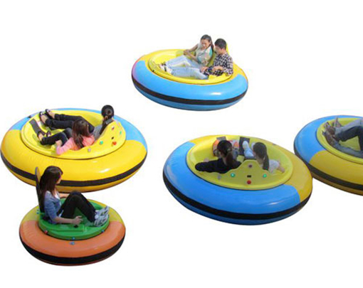 Beston dodgem cars with inflatable materials