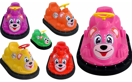 Small cartoon bumper cars for kids