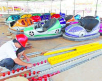 Design of bumper car playgrounds
