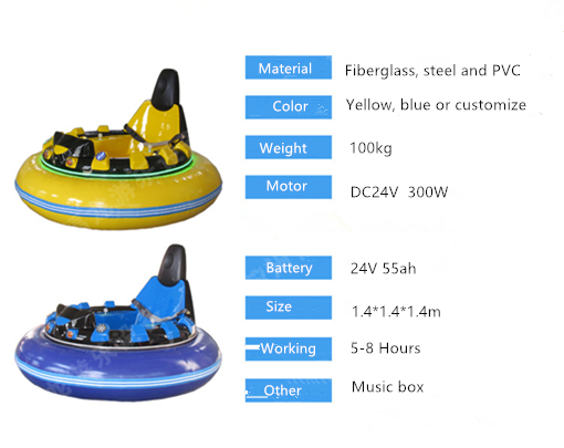 Beston inflatable fairground dodgem cars for sale