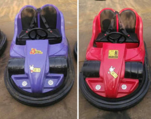 Electric net bumper cars for sale