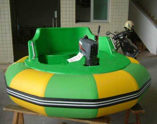 Quality bumper boats with battery operated