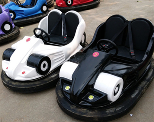 Electric dodgem cars for fun