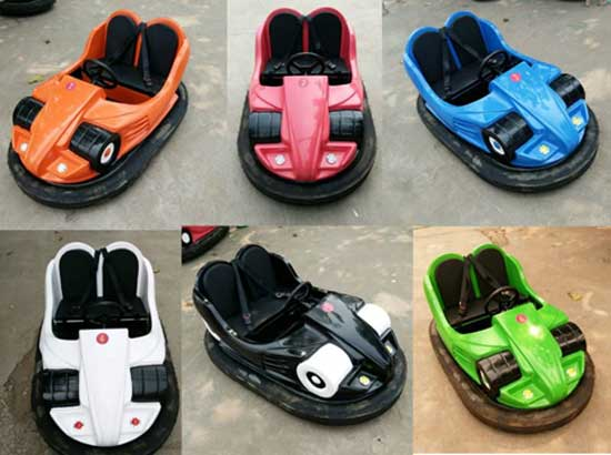 Colorful Battery Operated Bumper Cars