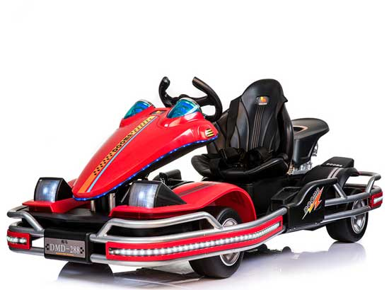 Red electric go karts for sale