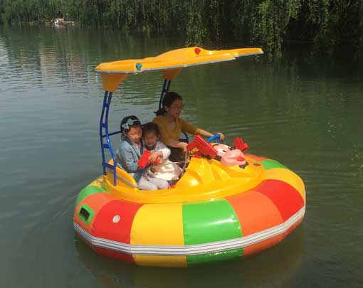Electric Bumper Boats for Indonesia