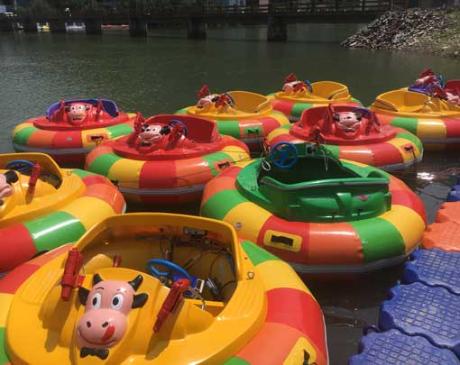 Kiddie Water Bumper Boats to Indonesia