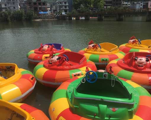 Motorized Bumper Boats